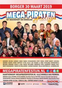 Mega Piratenfestijn Borger